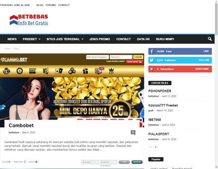 Betbebas Com Betbebas Info Bet Gratis Freebet Info Agen Judi Online Bet Gratis Freebet Poker Togel Singapore Hongkong Slot Online Taruhan Terbaru Dan Promo Menarik Lainnya Se Indonesia